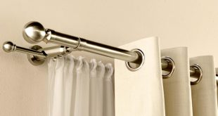 curtain poles satin silver duo curtain pole WBXYROM