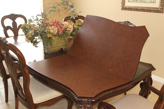 custom dining room table pads of well table pads custom table RAHGPJA
