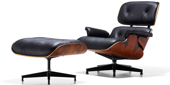designer chairs eames lounge chair u0026 ottoman (1956). MBNRUPX