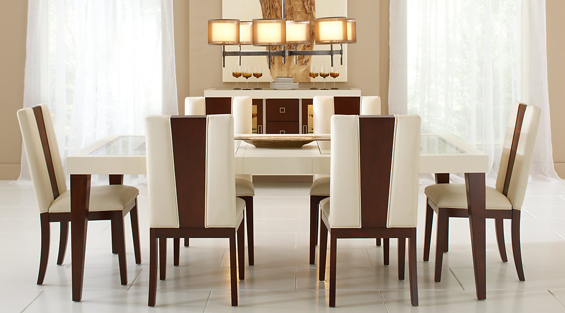 dining sets affordable rectangle dining room sets - rooms to go furniture XIRJMSE