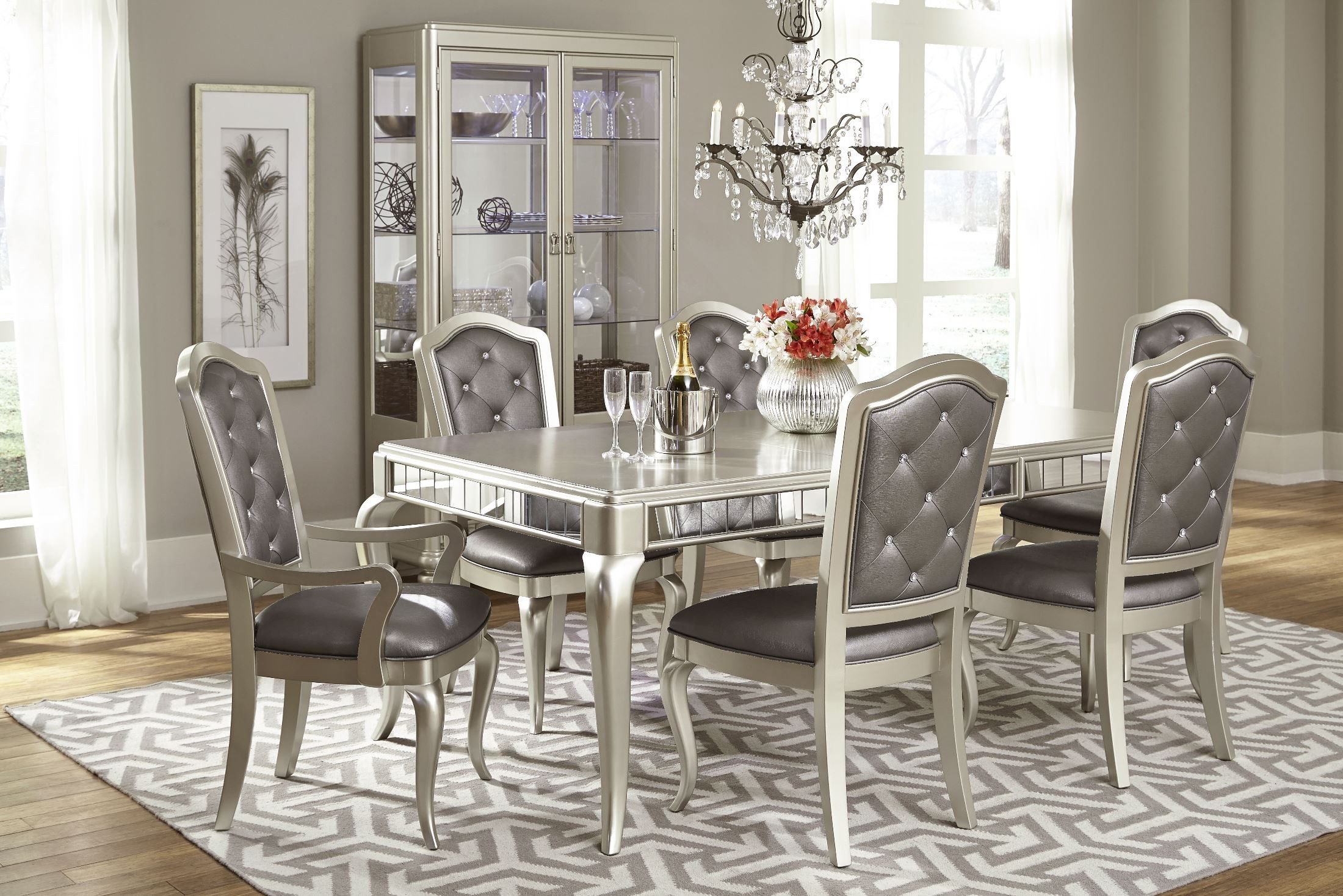 dining sets diva rectangular extendable leg dining room set YDLKGIP