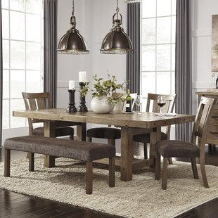 dining sets etolin 6 piece extendable dining set FZFATVD