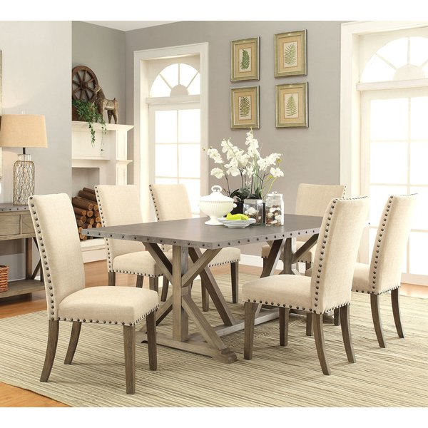 dining sets infini furnishings athens 7 piece dining set u0026 reviews | wayfair ILRAXML