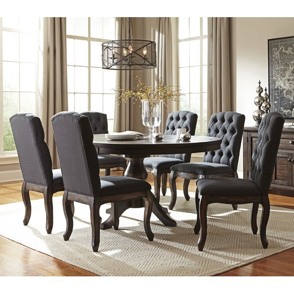 dining sets loon peak baxter 7 piece dining set u0026 reviews | wayfair XOHZJTB