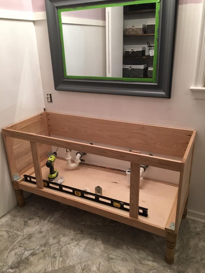 dıy bathroom vanity building-60-inch-diy-bathroom-vanity-sides-and- IXEFKXF