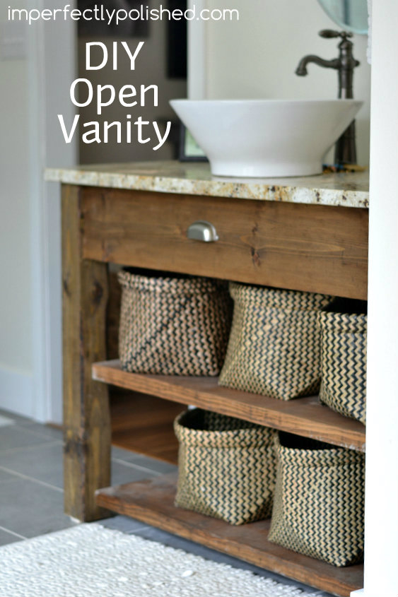 dıy bathroom vanity diy bath vanity HPURFHY