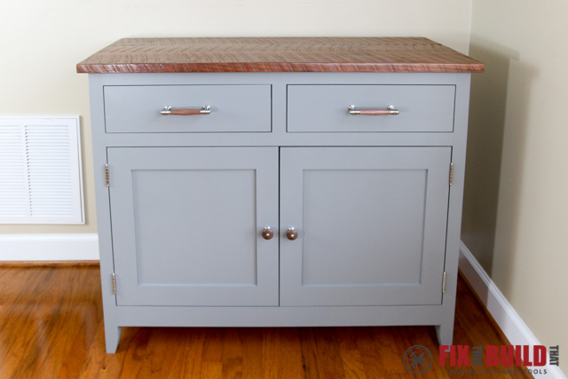 diy sideboard cabinet front QPXBSDS