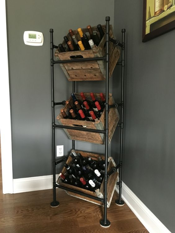 diy wine racks 22 diy wine rack ideas, offer a unique touch to your GFQWASV