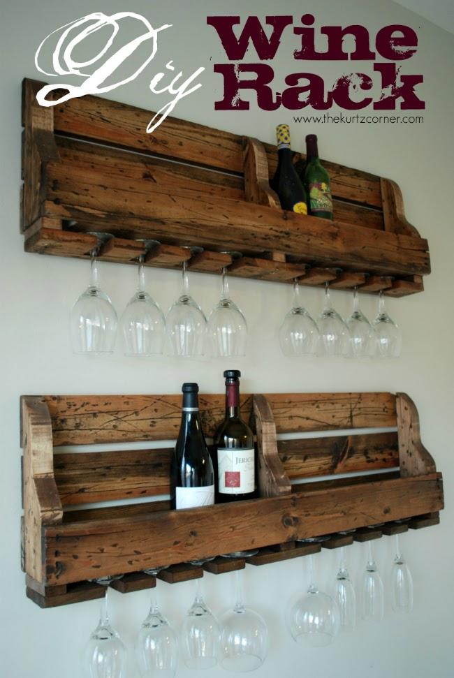 diy wine racks diy rustic wine rack ARYQCDS
