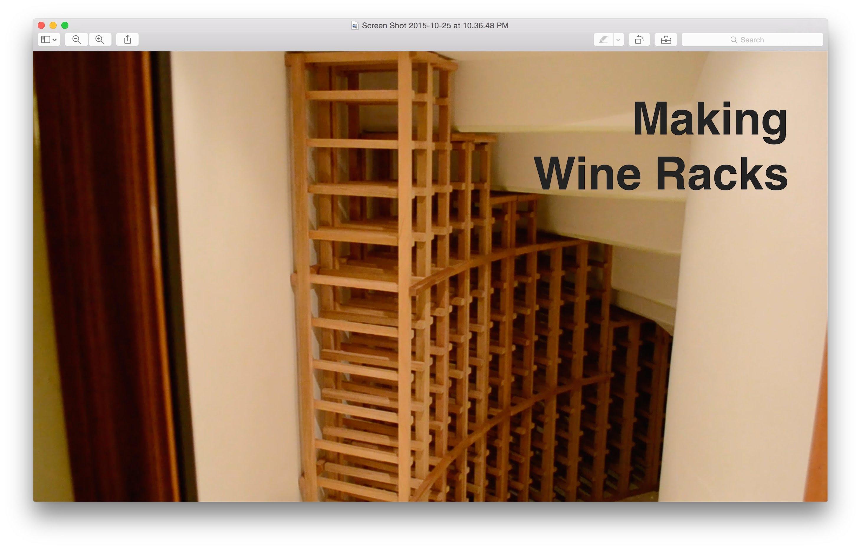 diy wine racks making wine racks - youtube NJWKPOA