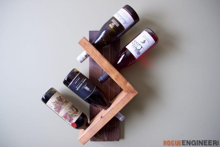 diy wine racks wall wine holder UEOKWIB