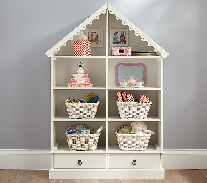 dollhouse bookcase ideas dollhouse bookcase | pottery barn kids QQAIYOG