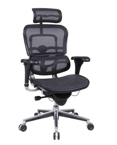 ergonomic office chairs eurotech me7erg ergohuman mesh ergonomic chair w/ headrest. view office MGMPXXD