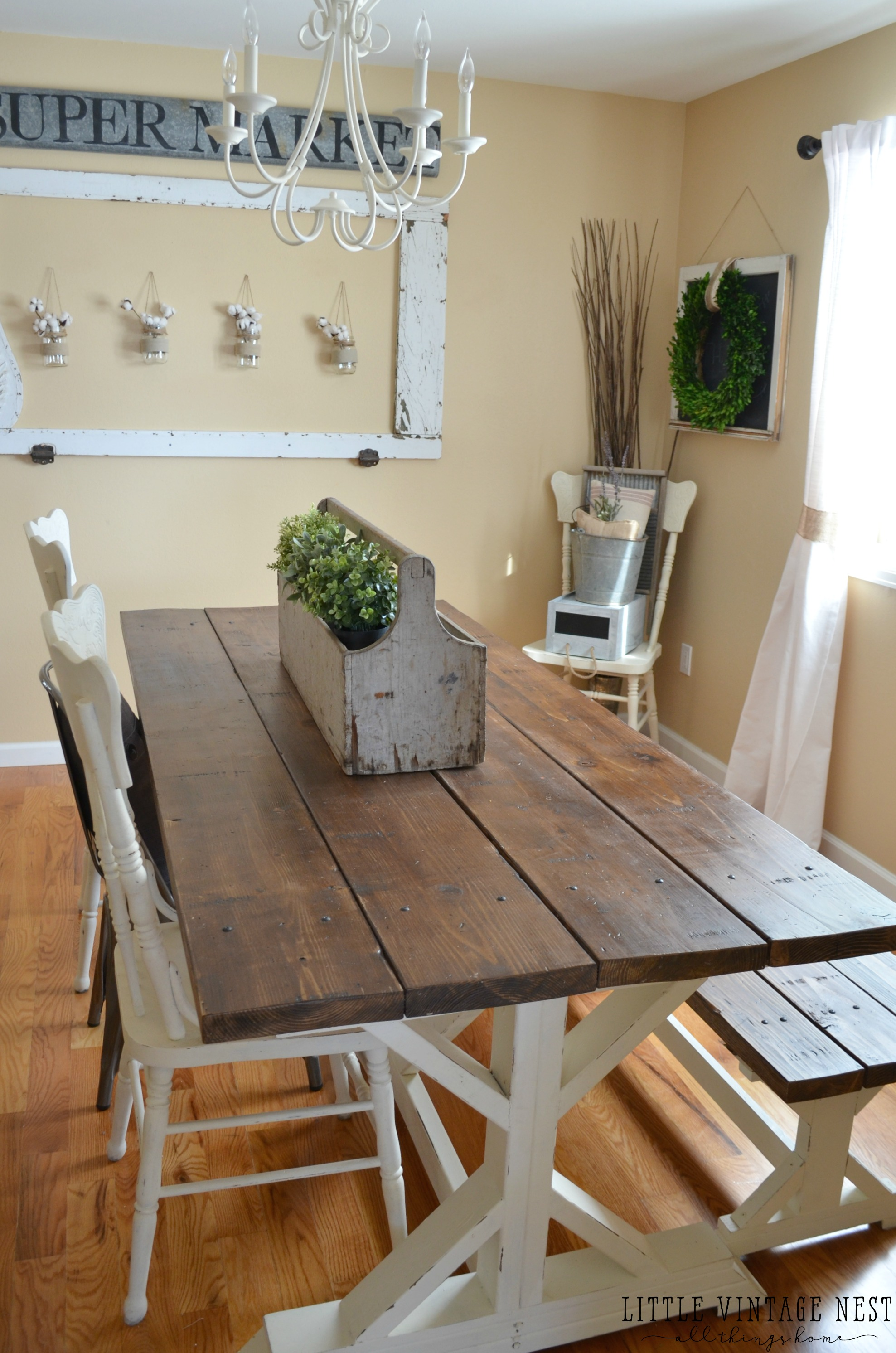 farmhouse dining table farmhouse style dining room RUZOVDB