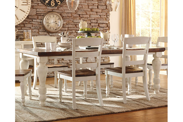 farmhouse dining table marsilona dining room table, , large ... DSSMYLF