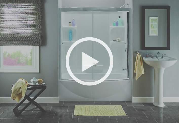 fitting bathroom panels install a glue-up shower enclosure JYTNIZL
