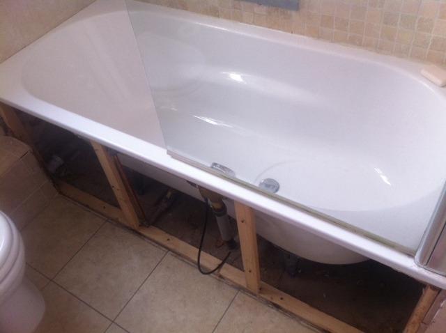 fitting bathroom panels photographs ZJDLYRC