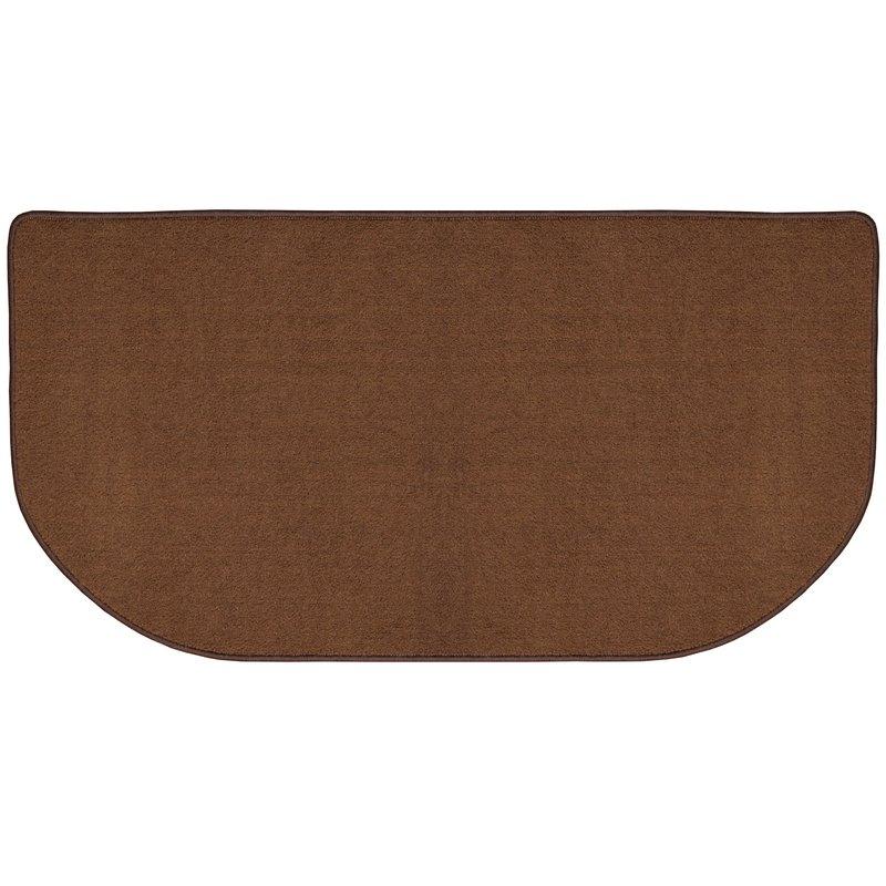 flame-resistant nylon hearth rug NNHJSXY