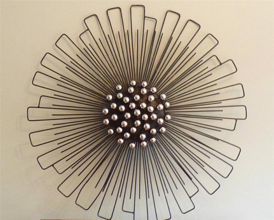 flower contemporary metal wall decor BAIPGOF