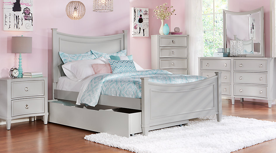 full bedroom sets jaclyn place gray 5 pc full bedroom - teen bedroom sets QDXEFYG