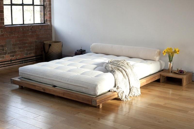 futon bed low level kingsize bed | futon company OXCVRCS
