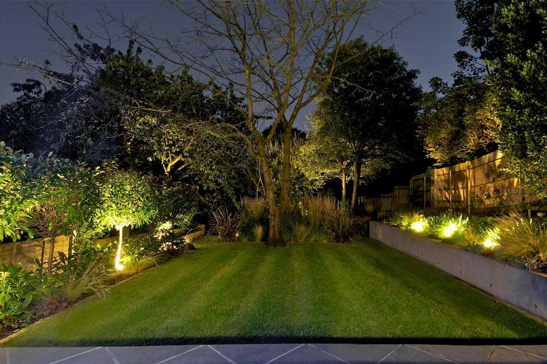 garden lighting design, london, 4 HFNJBIE