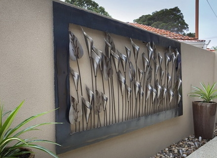 garden wall art trendy idea outdoor wall art modern house large metal garden delectable SDTTMPN
