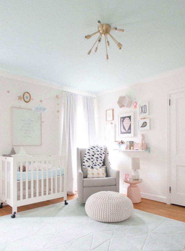 girl nursery ideas baby girl nursery white WOZFIMR