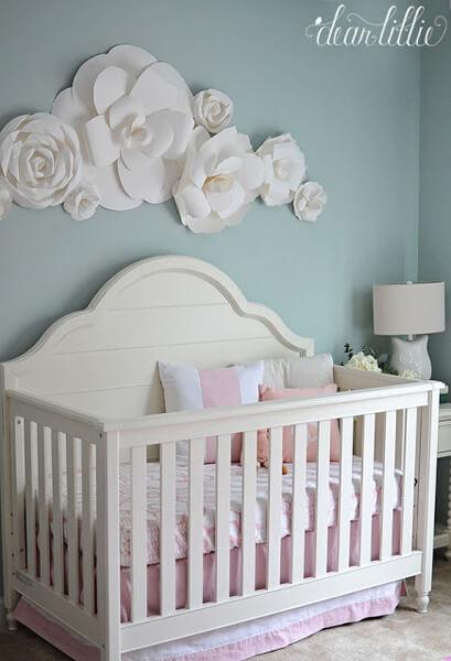 girl nursery ideas baby girl room idea - shutterfly GDQUKMC