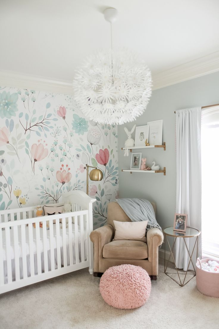 girl nursery ideas bright and whimsical nursery for colette TVQUQLX