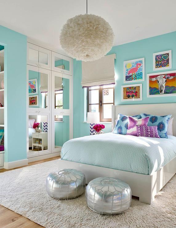 girls bedroom ideas bedroom decor - turquoise bedroom ideas FAQNNFZ