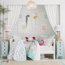girls bedroom ideas ... lilly pulitzer pineapple paradise bedroom ZQPDTXL