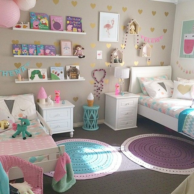 girls bedroom ideas superb design of the white bed and pink decoration ideas with KKFDVXA
