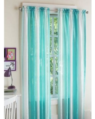 girls curtains your zone crushed ombre girls bedroom curtains, summersky PYLUBIO