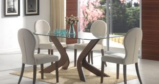 glass dining room table dainty chair and glass dining room tables on smooth carpet BCTNYLV