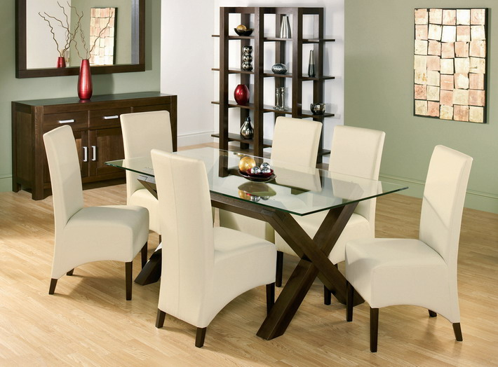 glass dining room table popular attractive sets in top square on BRDEAUV