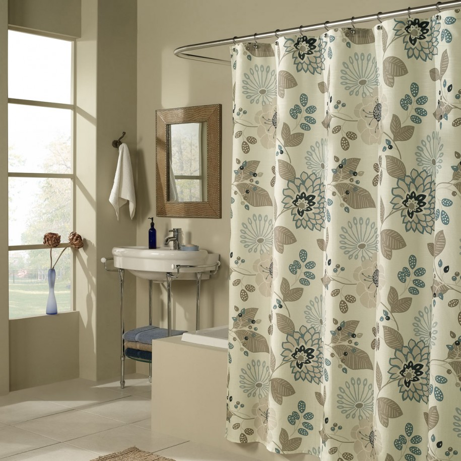 Bathroom Shower Curtains Pretty And Useful