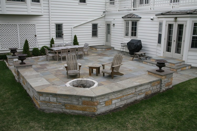 gorgeous stone patio ideas 25 great stone patio ideas for your WZEKZBT