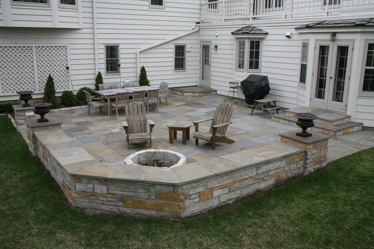 gorgeous stone patio ideas 25 great stone patio ideas for your WZEKZBT