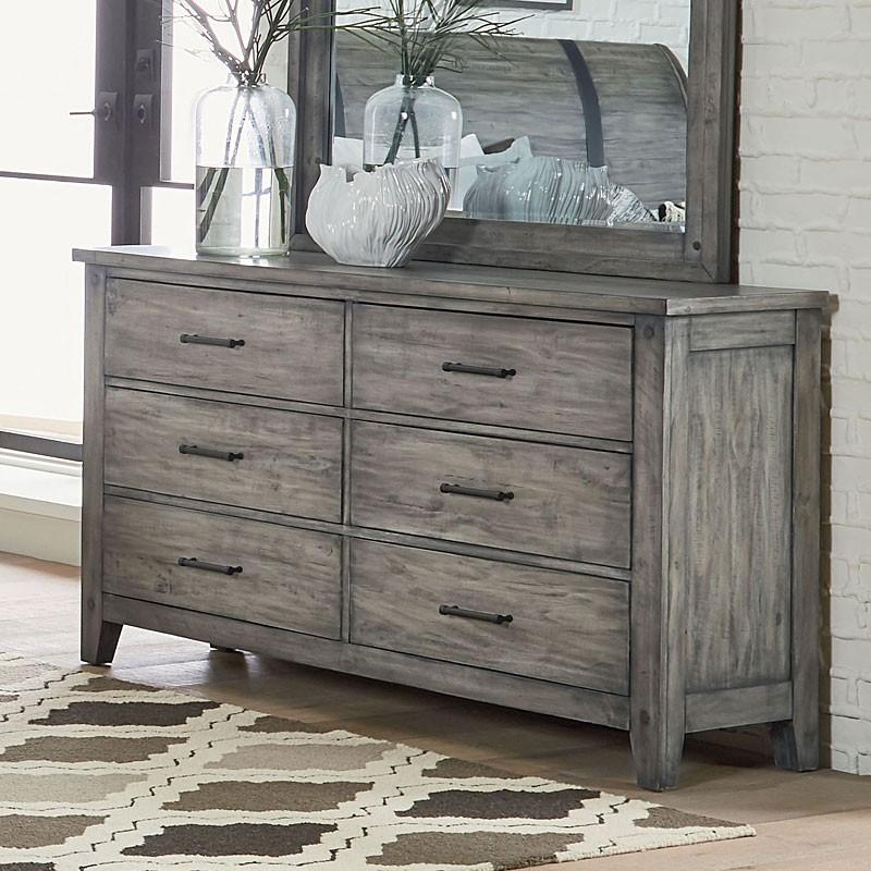 grey dressers nelson dresser (grey) PEYAKUH