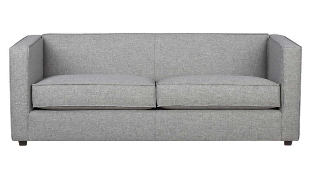 grey sofas club light grey sofa + reviews | cb2 QVHJSZZ
