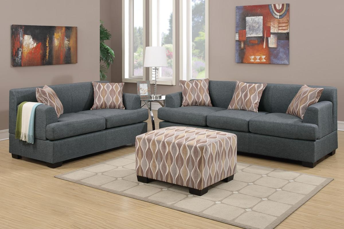 grey sofas fabric sofas, living room - blue gray blended linen sofa throughout NOOTVWN