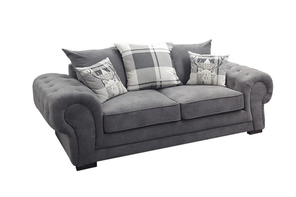grey sofas the belmont grey ... DHCTBZV