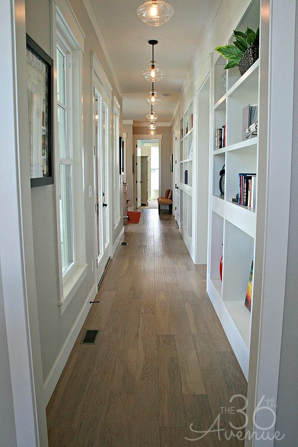 hallway lighting love this hallway with those lights!! home decor and design tips LJKUMZG