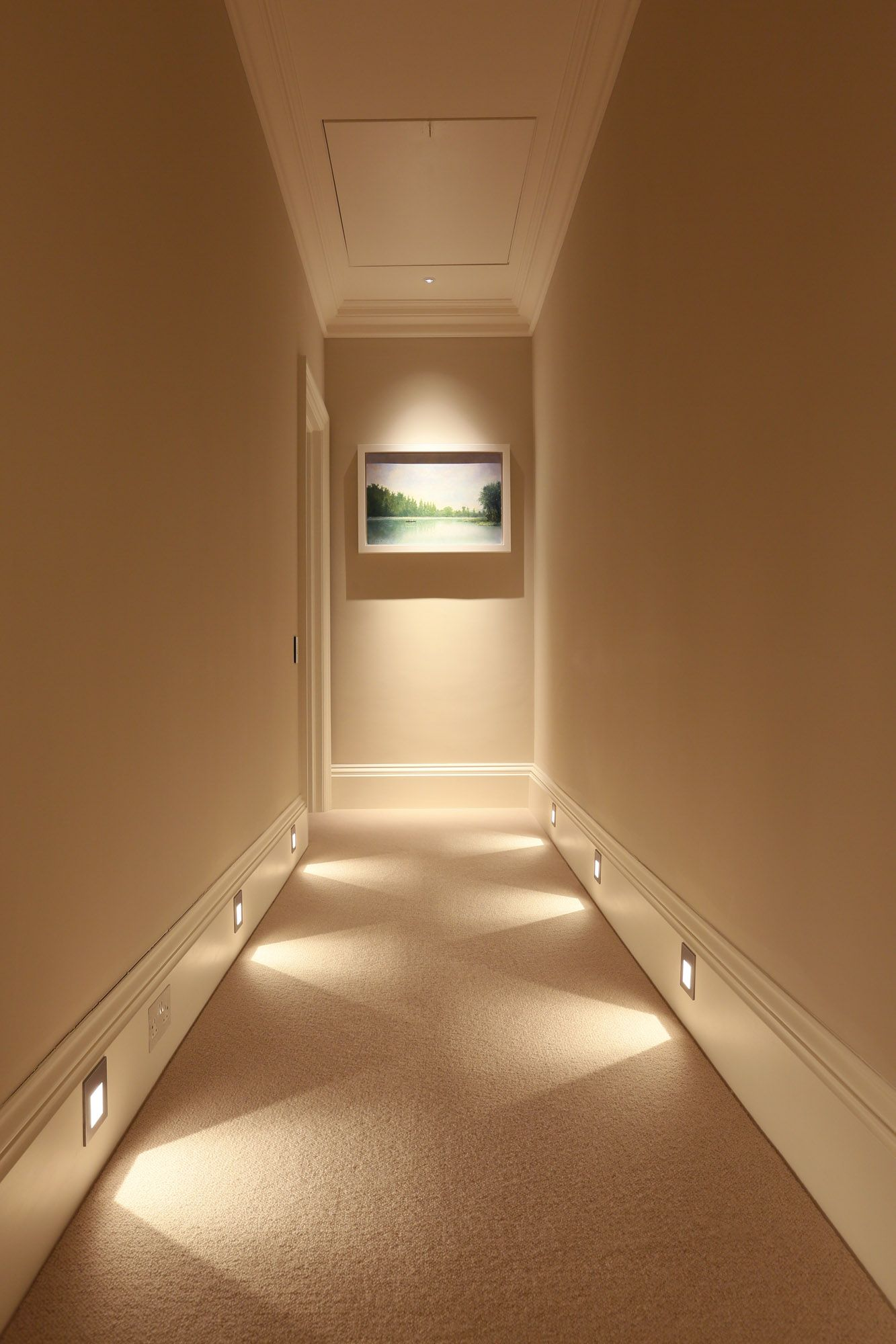 hallway lighting most popular light for stairways, check it out :) #homeideas #stairways VMMOLWJ