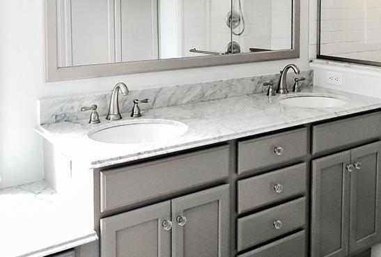 high quality design of quartz bathroom countertops from signature kitchen HNCIWGO