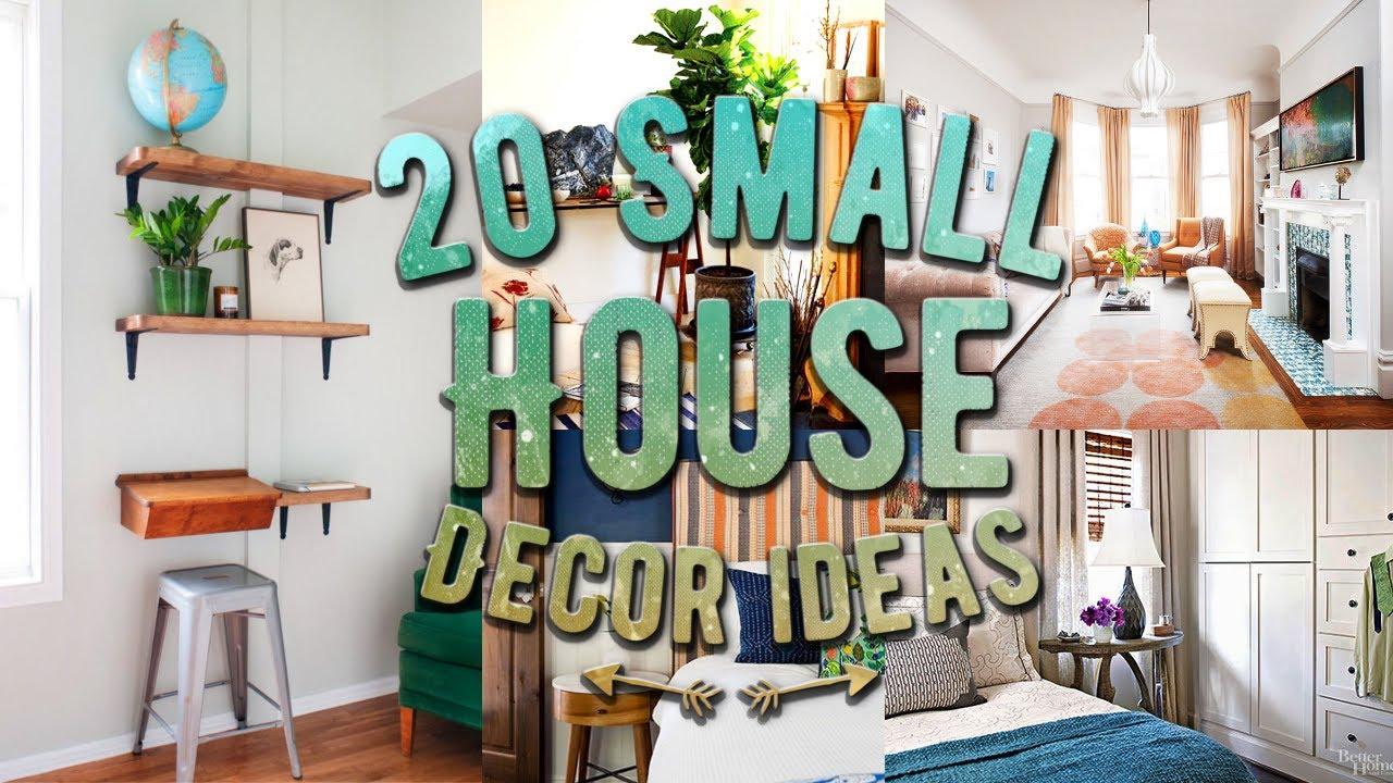 home decor ıdeas 20 small house decor ideas MXVNLSG