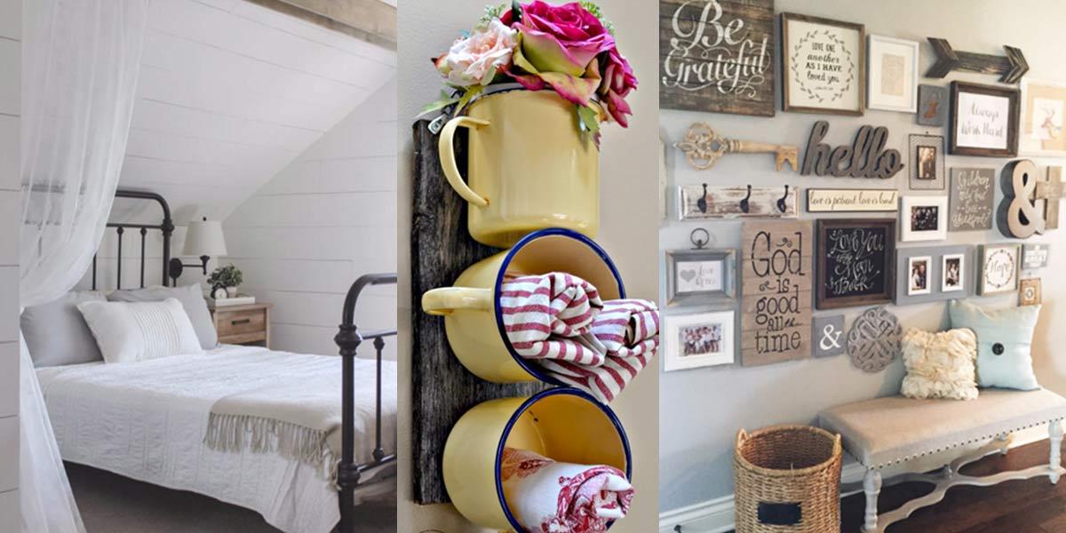 home decor ıdeas 41 incredible farmhouse decor ideas IOXXBLO