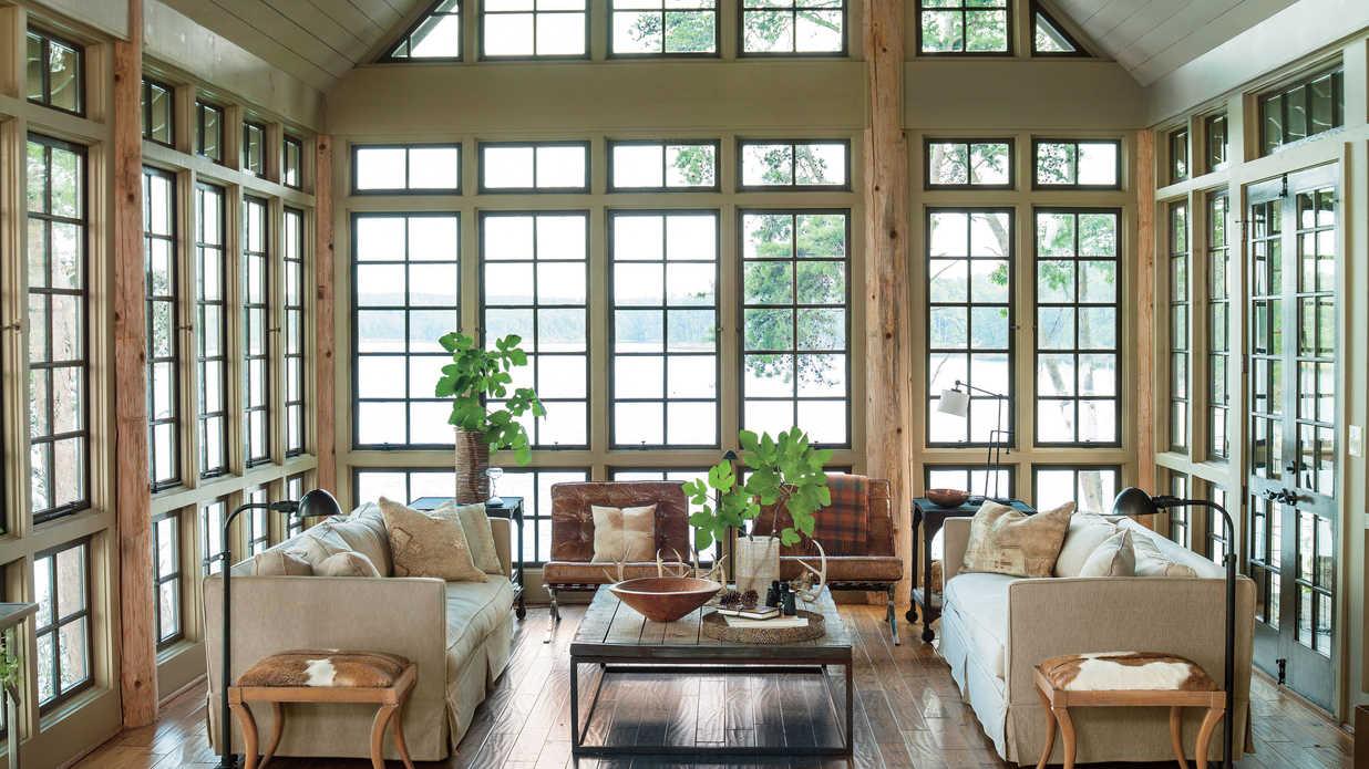 home decor ıdeas lake house decorating ideas - southern living PWXVPKM