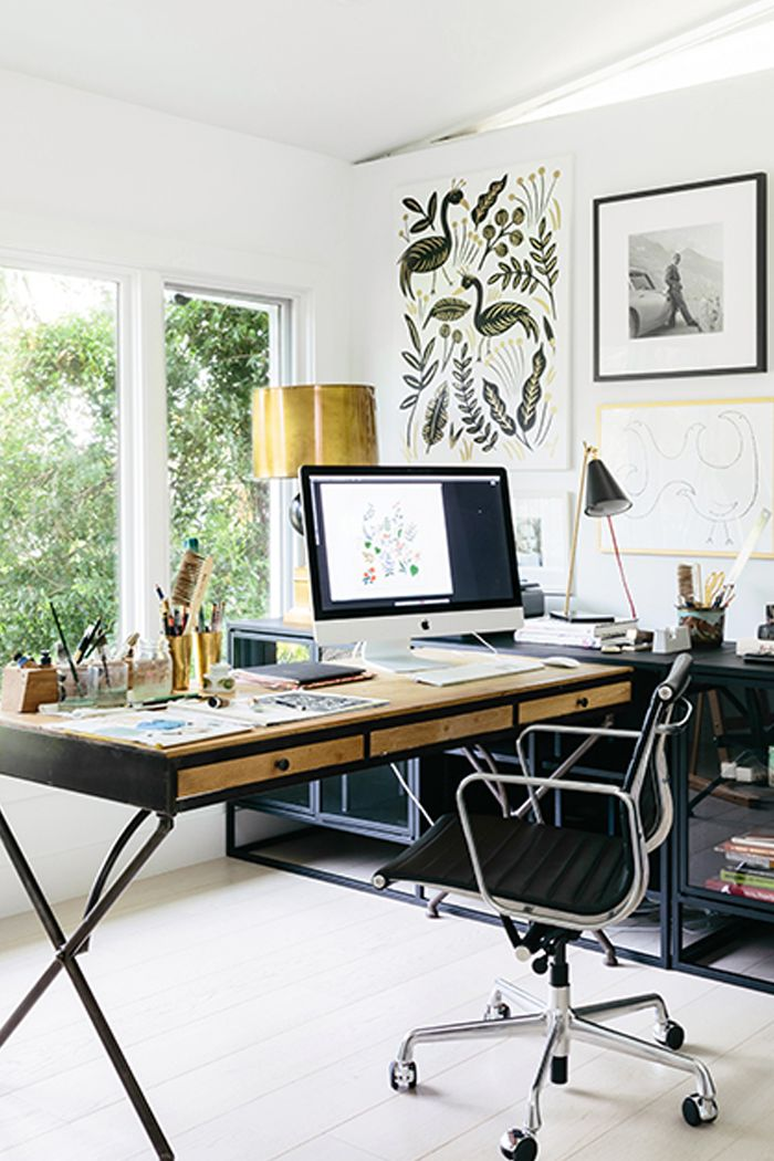 home office decorating ıdeas home-office decorating ideas to boost your productivity | mydomaine NQYPIQJ